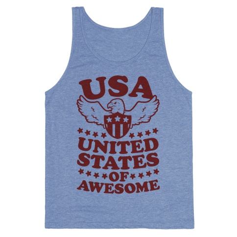 United States of Awesome Tank Top
