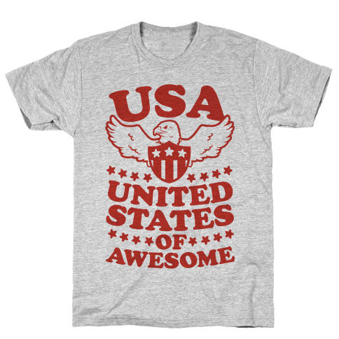 United States of Awesome Mens T-Shirt