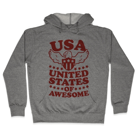 United States of Awesome Hooded Sweatshirt
