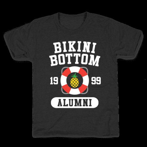 Bikini Bottom Alumni Kids T-Shirt