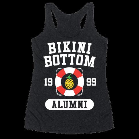 Bikini Bottom Alumni Racerback Tank Top