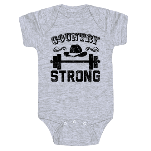 Country Strong Baby Onesy
