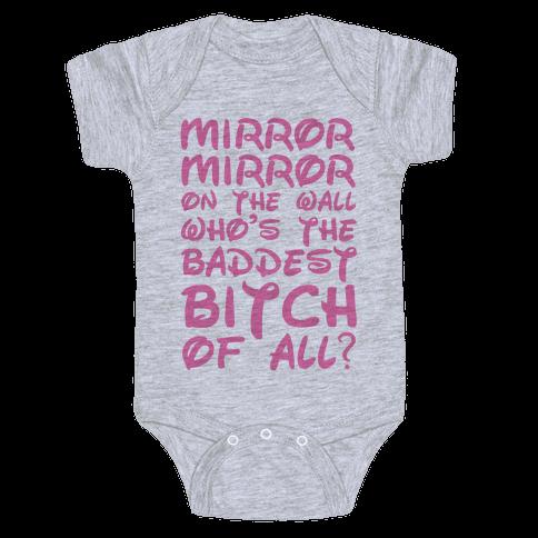 Mirror Mirror On the Wall Baby Onesy