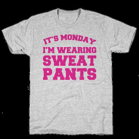 It's Monday Mens T-Shirt