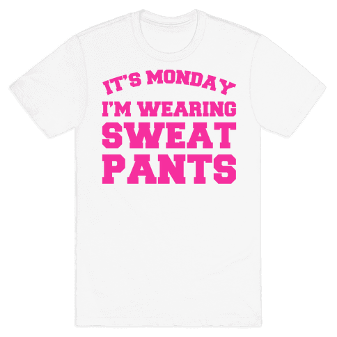It's Monday Mens T-Shirt