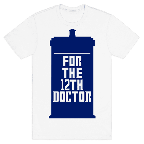 Blank For The 12th Doctor Mens T-Shirt