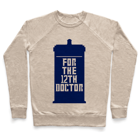 Blank For The 12th Doctor Pullover