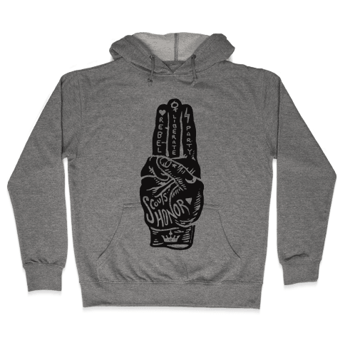 Scouts Honor Hooded Sweatshirt