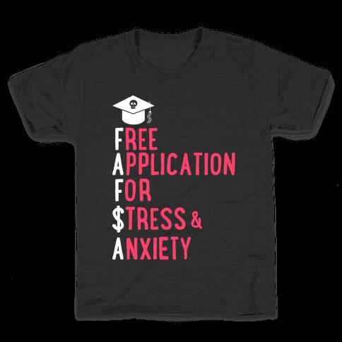 FAFSA Kids T-Shirt
