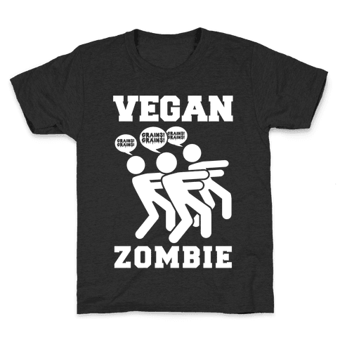 Vegan Zombie Kids T-Shirt