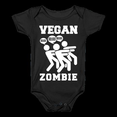 Vegan Zombie Baby Onesy