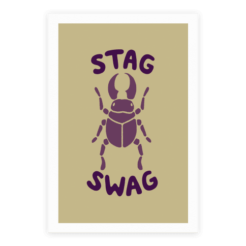 Stag Swag Poster