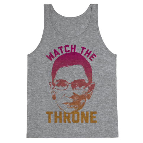 Watch The Throne RGB Tank Top