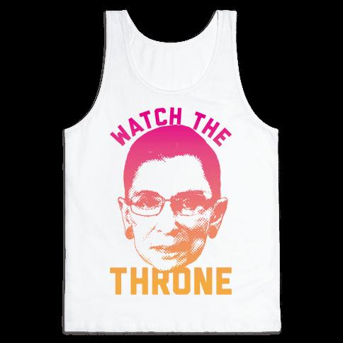 Watch The Throne RGB Tank Top
