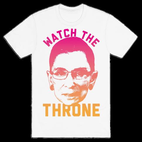 Watch The Throne RGB Mens T-Shirt