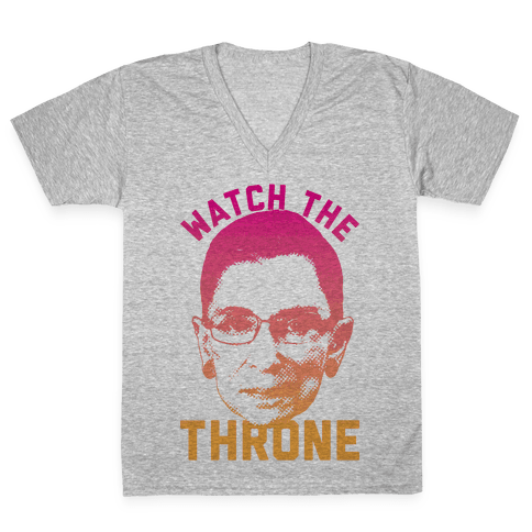 Watch The Throne RGB V-Neck Tee Shirt
