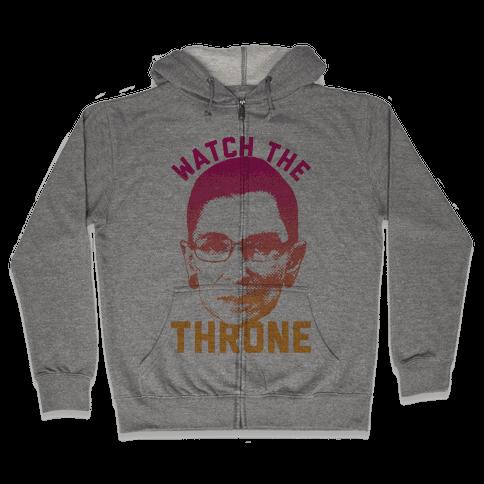 Watch The Throne RGB Zip Hoodie
