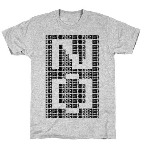 Nope Ascii Art T-Shirt