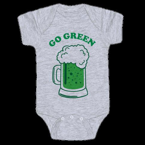 Go Green Baby Onesy