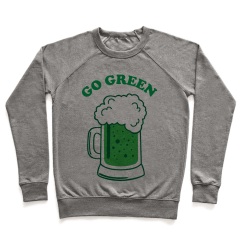 Go Green Pullover
