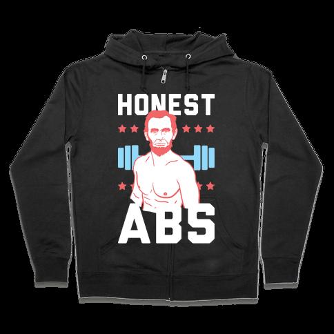 Honest Abs Zip Hoodie