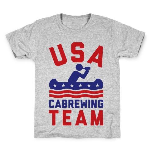 USA Cabrewing Team Kids T-Shirt