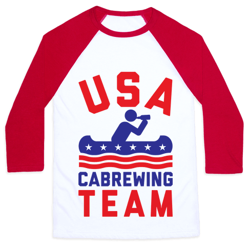 USA Cabrewing Team Baseball Tee