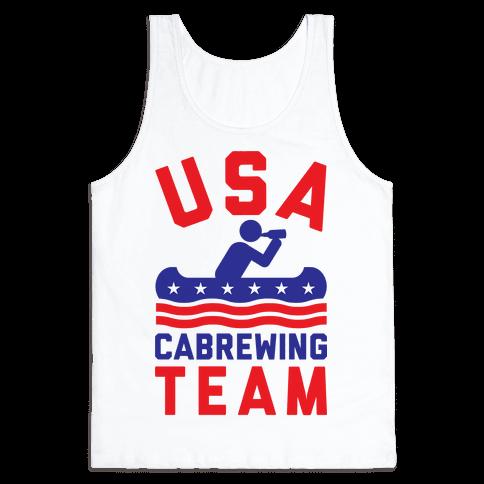 USA Cabrewing Team Tank Top
