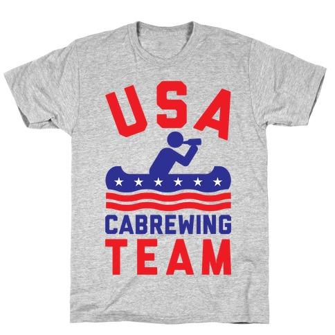 USA Cabrewing Team T-Shirt