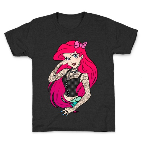 Punk Ariel Parody Kids T-Shirt