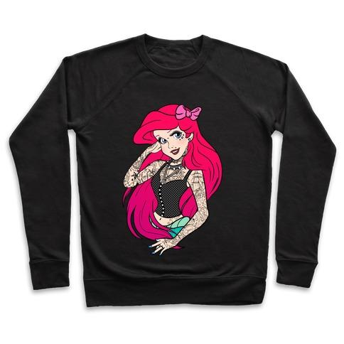 Punk Ariel Parody Pullover