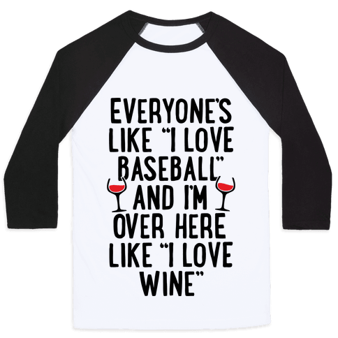 Baseball And Wine
