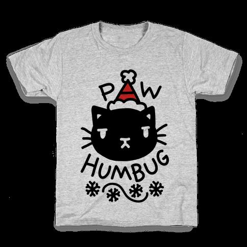 Paw Humbug Cat Kids T-Shirt
