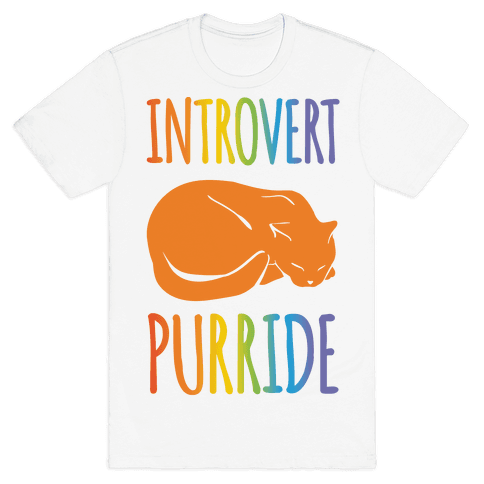 Introvert Purride Mens T-Shirt