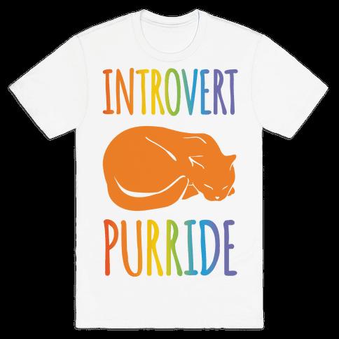 Introvert Purride Mens T-Shirt