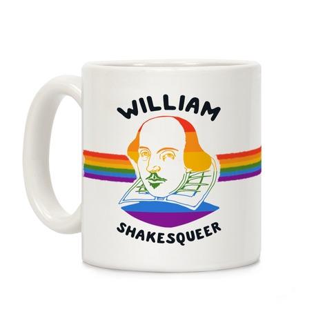 William ShakesQueer Coffee Mug