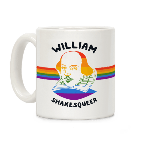 William ShakesQueer Coffee Mug