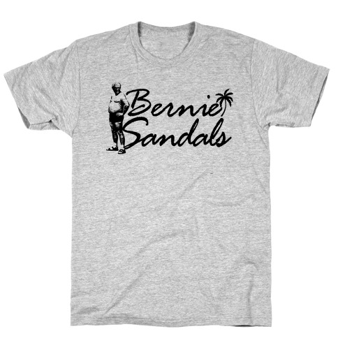 Bernie Sandals Mens T-Shirt