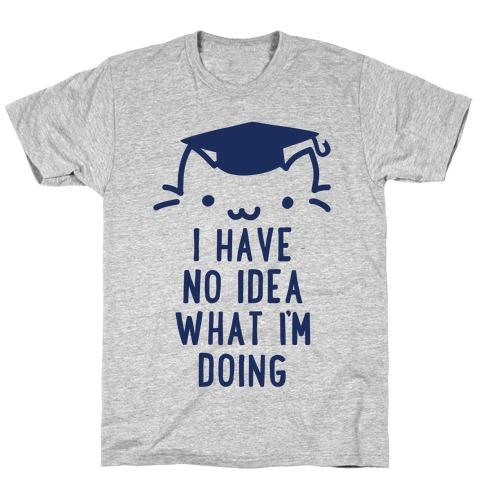 Graduation Cat T-Shirt