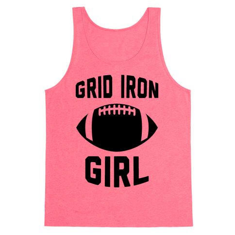 Grid Iron Girl Tank Top