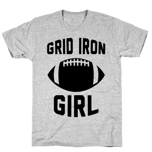 Grid Iron Girl T-Shirt