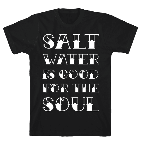 Salt Water Mens T-Shirt