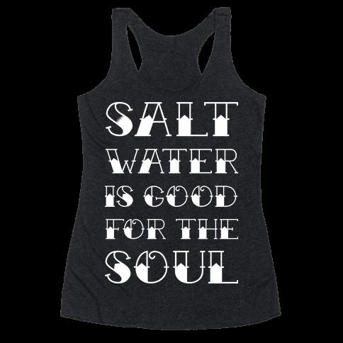 Salt Water Racerback Tank Top
