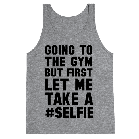 Going to the Gym Tank Top