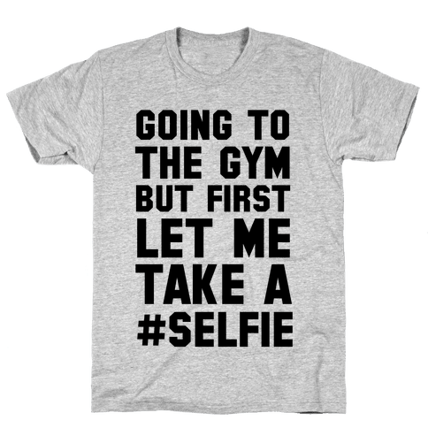 Going to the Gym Mens T-Shirt