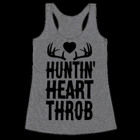 Huntin' Heart Throb Racerback Tank Top