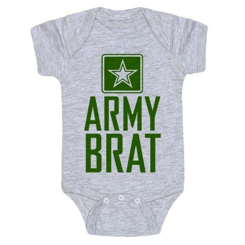 Army Brat Baby Onesy