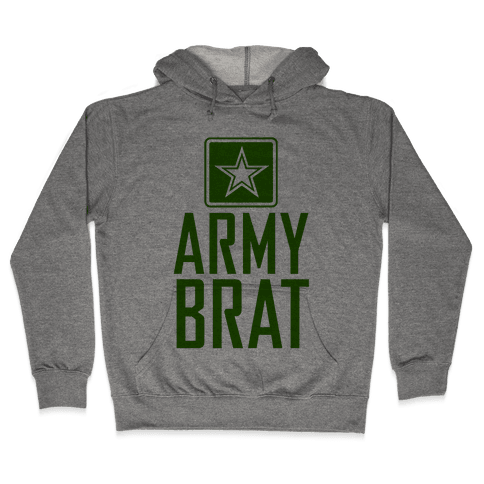 Army Brat Hooded Sweatshirt
