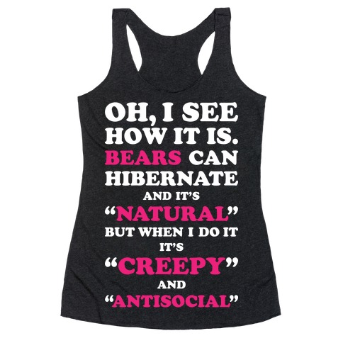 Hibernation Racerback Tank Top