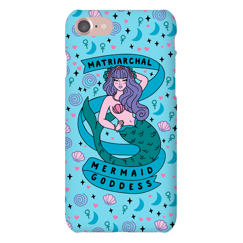 Matriarchal Mermaid Goddess Phone Case